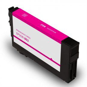 Cartouche d'encre Magenta Réusinée Epson 802XL (T802XL320) Haut Rendement