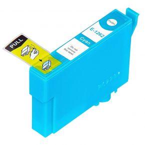 Cartouche Encre Compatible EPSON T126220 (T1262) - Cyan Haut Rendement