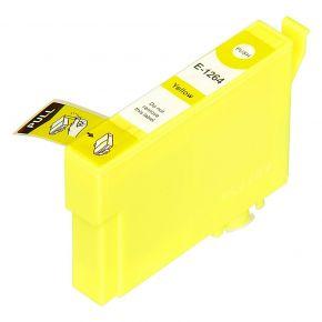 Cartouche Encre Compatible EPSON T126420 (T1264) - Jaune Haut Rendement