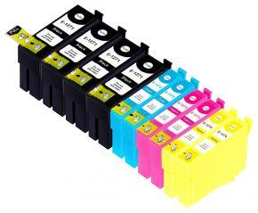 Ensemble de 10 cartouches Compatibles  pour Epson T127 - Extra Haut Rendement