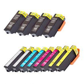 Ensemble12 Cartouches imprimante  - Encre Compatible EPSON T273XL - Haut Rendement