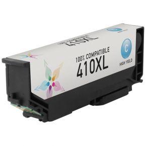 Cartouche d'encre Cyan Compatible Epson 410 XL (T410XL220) Haut Rendement