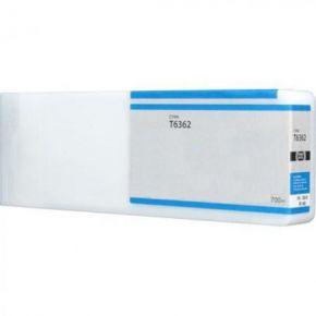 Cartouche Compatible EPSON Stylus PRO 7890 (T636200) - Extra Haut Rendement - Cyan
