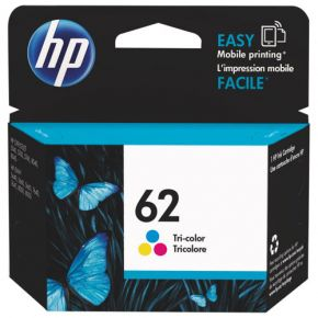 Cartouche d'encre Couleur d'origine OEM Vivera Hewlett Packard C2P06AN (HP 62)