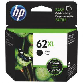 Cartouche d'encre Noir d'origine OEM Vivera Hewlett Packard C2P05AN (HP 62XL) Haut Rendement