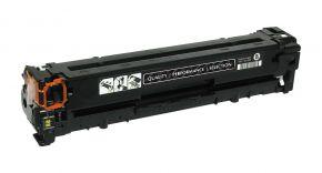 Cartouche Toner Laser Noir Réusinée Hewlett Packard CB540A pour Imprimante Laserjet Couleur Séries CP1215, CP1515 & CM1312