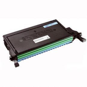 Cartouche Toner Laser Cyan Réusinée Haut Rendement pour Imprimante 2145cn