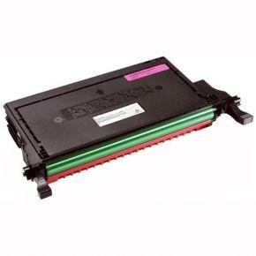 Cartouche Toner Laser Magenta Réusinée Haut Rendement pour Imprimante 2145cn