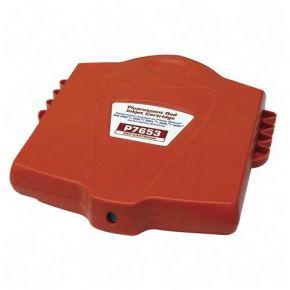 Cartouche d'encre Rouge Compatible pour Imprimante Pitney Bowes 765-3 Fluorescent pour Imprimante DM200i, DM300i, DM300L, DM400L & DM400i