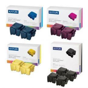 Ensemble de 10 Encre Solide Compatible  pour imprimante Xerox ColorQube 8570