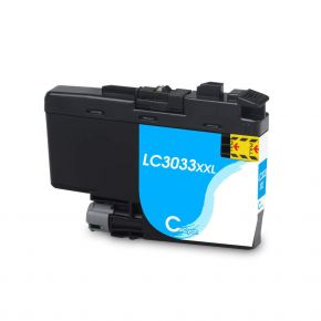 Cartouche Compatible Brother LC-3033C Extra Large Cyan