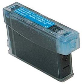 Cartouche d'encre Cyan Compatible Brother LC01C