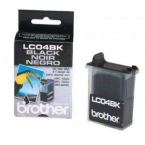 Cartouche d'encre Noir d'origine OEM Brother LC04Bk