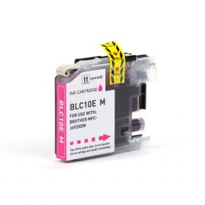 Cartouche encre compatible BROTHER LC10E Magenta - Extra Haut Rendement - Magenta