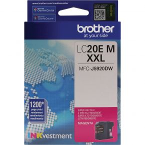 Cartouche d'origine Brother LC20EXXL Magenta Extra Haut rendement