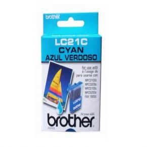 Cartouche d'encre Cyan d'origine OEM Brother LC21C