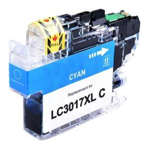 Cartouche d'encre Cyan Compatible Brother LC3017C XL Haut Rendement (Séries LC3017)