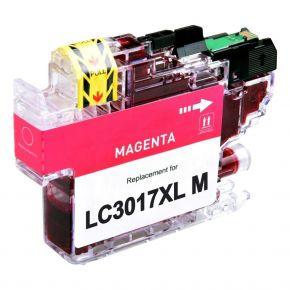 Cartouche d'encre Magenta Compatible Brother LC3017M XL Haut Rendement (Séries LC3017XL)