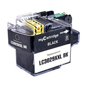Cartouche d'encre Noir Compatible Brother LC3029BK XXL Haut Rendement (Séries LC3029)