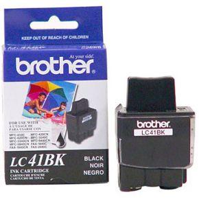 Cartouche d'encre Noir d'origine OEM Brother LC41Bk