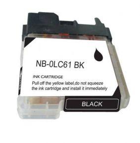 Cartouche d'encre Noir Compatible Brother LC61Bk