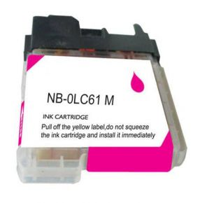 Cartouche d'encre Magenta Compatible Brother LC61M (Séries LC61)