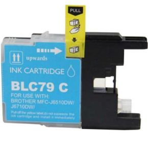 Cartouche d'encre Cyan Compatible Brother LC79C Extra Haut Rendement (Séries LC79)