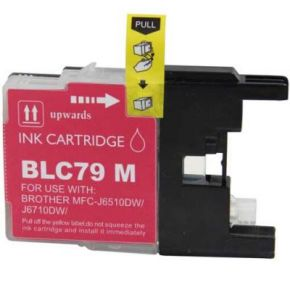Cartouche d'encre Magenta Compatible Brother LC79M Extra Haut Rendement (Séries LC79)