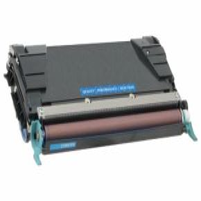 Cartouche Toner Laser réusinée  LEXMARK C746A1CG - Extra Haut Rendement Cyan