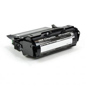 Cartouche Toner Laser Noir Réusinée Lexmark X651H11A / X651H21A Haut Rendement