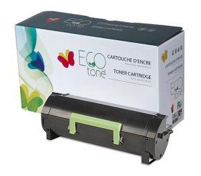 Cartouche Toner LEXMARK 60F1000 / 601 Noir Recyclé Écoresponsable *Fabriqué au Quebec