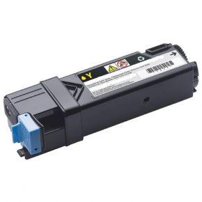 Cartouche Toner Laser Dell 331-0718 (D6FXJ) Jaune Réusinée Haut Rendement