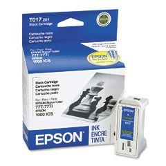 Cartouche d'encre Noir d'origine OEM Epson T017201 (T017)