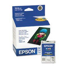 Cartouche d'encre Couleur d'origine OEM Epson T018201 (T018)