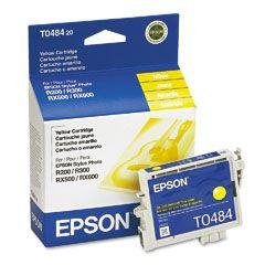 Cartouche d'encre Jaune d'origine OEM Epson T048420 (T0484)