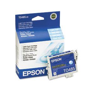 Cartouche d'encre Light Cyan d'origine OEM Epson T048520 (T0485)