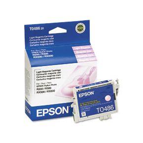 Cartouche d'encre Light Magenta d'origine OEM Epson T048620 (T0486)