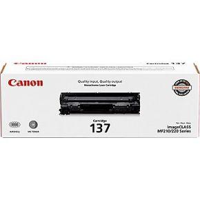 Cartouche Toner Laser Noir d'origine OEM Canon 137 (9435B001)
