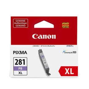 Cartouche d'encre Photo Noir Originale Canon CLI-281XL Haut Rendement