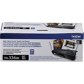 Cartouche Laser Toner Originale OEM BROTHER TN336BK - Haut Rendement - Noir