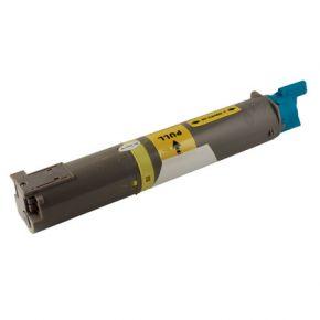 Cartouche Toner Laser Jaune Compatible Okidata 43459301 Haut Rendement pour Imprimante C3400n, C3530MFP & C3600n Series