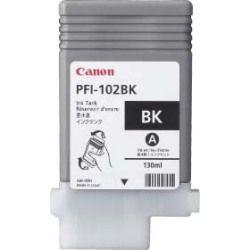 Cartouche d'encre Noir d'origine OEM Canon 0895B001AA (PFI-102BK) Dye-Based