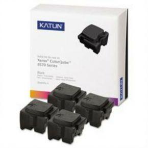 Encre Solide Noir Compatible Xerox 108R00929 pour imprimante ColorQube 8570 (Ensemble de 4 cartouches)