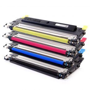 Ensemble de 4 Cartouches Laser Toner Compatible Samsung CLT-409S