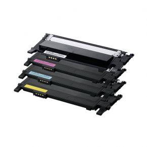 Ensemble de 4 Cartouches Laser Toner Compatible Samsung CLT-406S