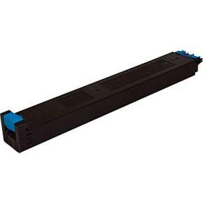 Cartouche Toner Laser Cyan Compatible Sharp MX-27NTCA pour Imprimante MX-2300N & MX-2700N