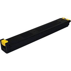 Cartouche Toner Laser Jaune Compatible Sharp MX-27NTYA pour Imprimante MX-2300N & MX-2700N