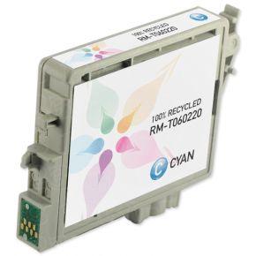 Cartouche d'encre Cyan Réusinée Epson T060220 (T0602)