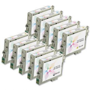 Cartouches d'encre Réusinées Epson T060 (Ensemble de 10 cartouches) pour Imprimante C88, CX4200, CX4800 & CX7800