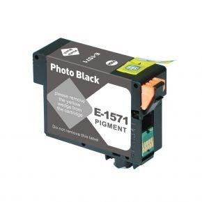 Cartouche d'encre Compatible EPSON T157120 (157) - Noir Photo